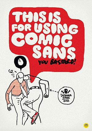 Comic Sans Must Die