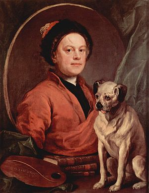Hogarth and his Pug