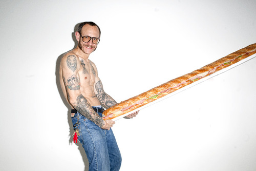 Terry Richardson and manwich