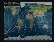 ISS over S. America