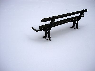 Bit cold to sit on
